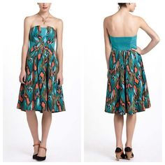 df204537e4d8c Shop Women's Anthropologie size 10 Dresses at a discounted price at  Poshmark. Description: By Girls from Savoy Side boning Side zip Cotton Dry  clean ...