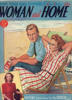 Woman and Home magazine from August 1945.