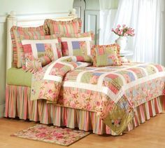 Claras Cottage Quilt and Bedding - at Discount Home Bedding for Kids & Adults Living Room Decor, Bedroom Decor, Big Block Quilts, Quilted Table Toppers, Quilt Bedding, Bed Covers, Bed Spreads, Comforter Sets, Quilting
