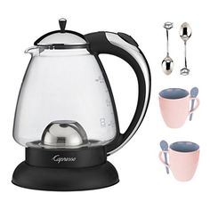 Capresso H2O Classic Glass Water Kettle Bundle -- See this great product-affiliate link-affiliate link.