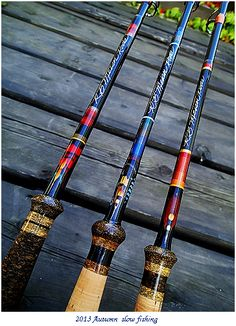 Custom Spey Rod : slow fishing