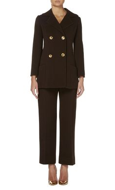 Brown trouser suit, circa 1970 - All Products - William Vintage