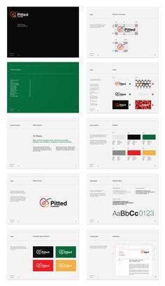 Identidade Visual da Pitted cheries | Criatives | Blog Design, Inspirações, Tutoriais, Web Design