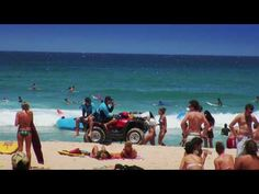 Bondi Beach Sydney, Australia video footage of beach, entertainment and daily life. YouTube.