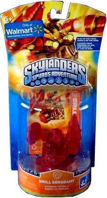 Skylanders Spyro's Adventure: Drill Sergeant (Clear RED Limited Edition)