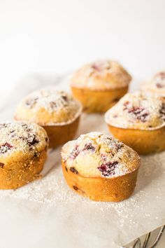 Raspberry and Vanilla Bean Friands