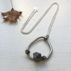 Hex Loop Pendant, Evie Leach, £85
