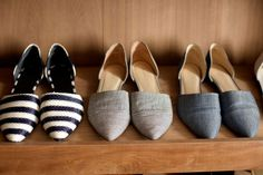 Inside Jenni Kayne's Dream Shoe Closet - Jenni Kayne Shoes - ELLE  I have loved d'orsays from the beginning... Annoyed I haven't been able to find any good ones until now! >:( Dang trends!