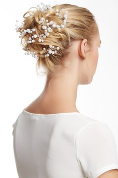 Faux Pearl Cluster Hair Pins - Set of 12 by Bansri on @HauteLook $29