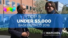 Top 5 Watches Under $5,000 of Baselworld 2016