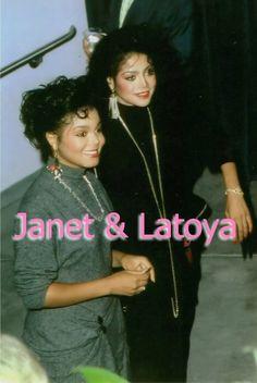 Janet & LaToya Jackson