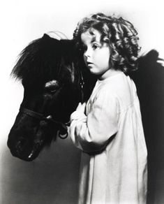 0 Shirley Temple with 'Spunky' the pony - 1