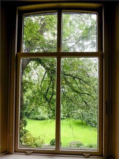 Rydal falls from the re-furbished grotto Window View, Open Window, Window Art, Window Seats, Old Windows, Windows And Doors, Cottage Windows, Cottage In The Woods, Looking Out The Window