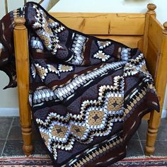 Ravelry: Project Gallery for Modular SouthWest Design-it-Yourself pattern by Judith Russell - great colours -- free pattern ༺✿ƬⱤღ✿༻