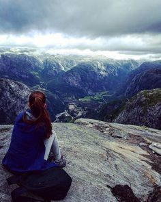 Hiking in Kjerag, Norway!