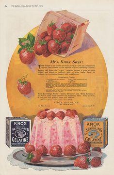 Orange Mass. f4 Antique 1908 Ad ~minute Gelatine Tapioca Co