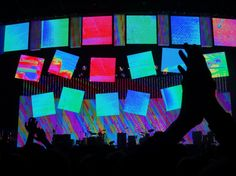 Radiohead in Berlin Added by Mirosław Głowski Radiohead Albums, Paranoid Android, Berlin, Light Design, Stage Design, Concerts, Aesthetics, Reading, Books