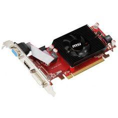 MSI R6450-MD2GD3/LP Radeon HD6450 2GB DDR3 PCIE Video Card Fan Cooler HDMI/DVI/VGA Low Profile by MSI. $51.03