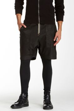 48afd1d6f98 Gabe Genuine Leather Short Men In Tight Shorts