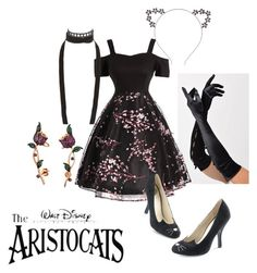 """""""Aristocats"""" by dolly164 ❤ liked on Polyvore featuring Bettie Page, Ann Demeulemeester, Bling Jewelry, disney and aristocats"""