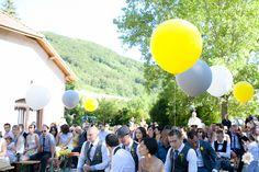 Joli mariage Jaune et Gris à Grenoble