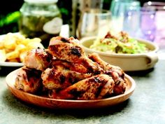 This Buttermilk Roast Chicken recipe makes for a winning dinner any night of the week. Garlic and peppercorns give this dish a dash of spice, while maple syrup adds a hint of sweetness that other roast chicken recipes lack. Buttermilk Marinated Chicken, Grilled Chicken, Roasted Chicken, Baked Chicken, All You Need Is, Wine Recipes, Cooking Recipes, Meat Recipes, Roast Chicken Recipes
