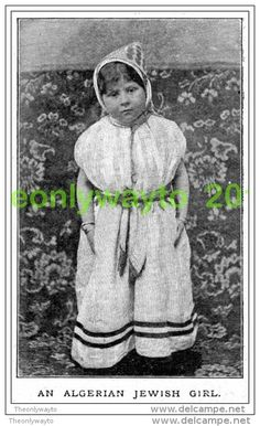 An Algerian Jewish Girl,1899, MODERN REPRODUCTION (Numéro