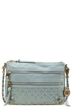 Elliott Lucca 'Messina Three Zip' Leather Clutch available at #Nordstrom