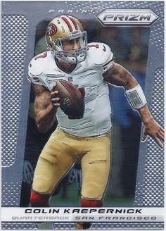 de220d68e Colin Kaepernick San Francisco 49ers 2013 Panini Prizm card  183