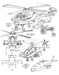 Draw Helicopters by Diana-Huang.deviantart.com on @deviantART
