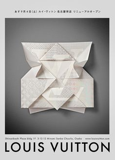 Louis Vuitton – Invitation Origami on Behance