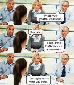 Honest Interview