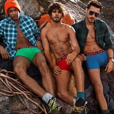 Tommy Hilfiger Unveils Colorful Boxer Briefs for Fall 2014 Underwear Campaign image hilfiger underwear