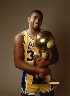 "Earvin ""Magic"" Johnson - 5 time NBA Champion (1980, 1982, 1985, 1987, 1988)"