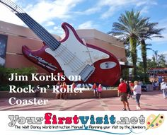 Jim Korkis on Rock 'n' Roller Coaster from yourfirstvisit.net - the fascinating back-story and connection to Tower of Terror