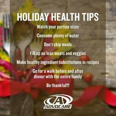 """Advocare thanksgiving """"its a lifestyle not a diet"""""""