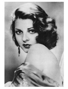 Lillian Bond (1908-1991) - British and American film actress of the late 1920s to the 1940s, with most of her films being B-films.