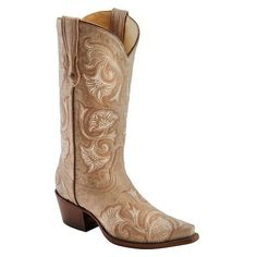 Corral Bone Floral Embroidered Cowgirl Boots Snip Toe and other apparel, accessories and trends. Browse and shop 8 related looks.