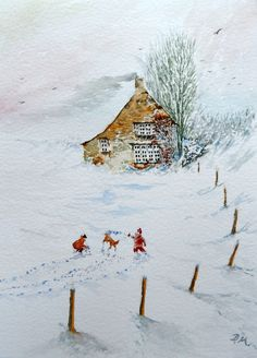 snow   Bavaro Art Ann & Derek Mutch