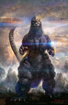 Godzilla by Cheung Chung Tat *