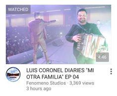 Go watch Luis Coronel Diaries ep4