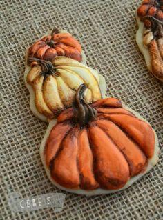 Autumn Pumpkin cookies Uploaded by user