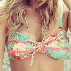 This suit is so pretty and girly