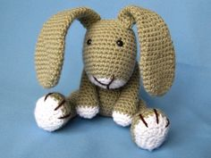 Little Bunny Simon Crochet Pattern / PDF e-Book by DioneDesign on Etsy https://www.etsy.com/listing/123959896/little-bunny-simon-crochet-pattern-pdf-e