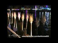 VIVID Sydney 2015 - 42 Tidal Reed Garden - YouTube