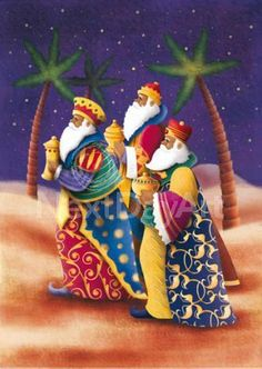 Three Kings Bearing Gifts