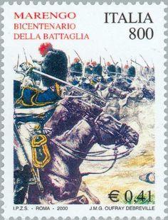 Sello: Battle of Marengo (Italia) Mi:IT 2720,Sn:IT 2367,Yt:IT 2451,Sg:IT 2633,Un:IT 2535