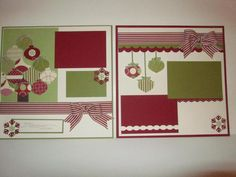 Can't wait to make.  :) I love to save all those holiday photos I get in the mail each Christmas and scrapbook them.  Stampin' Up!