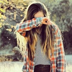 pastel plaid flannel button-up shirt, gray tee, dark skinny jeans. tomboy, skater, casual, travel, basic, country, school, camping, hangout, weekend, spring or fall outfit.