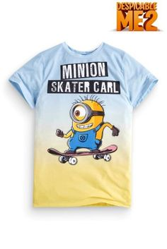 Buy Blue Carl Minion T-Shirt (3-12yrs) from the Next UK online shop